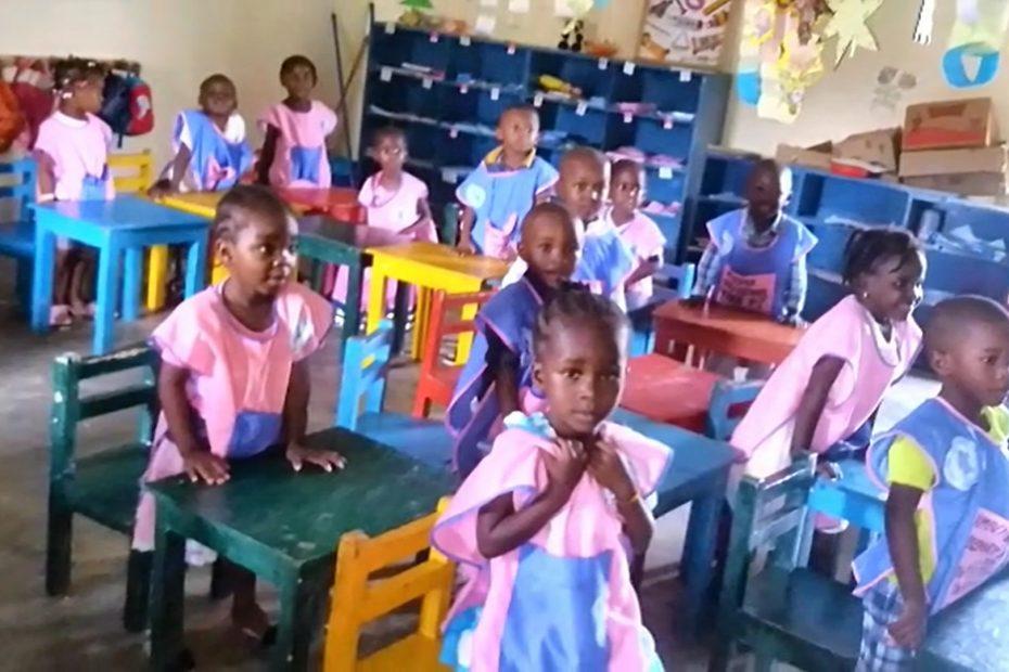 La educación en los colegios del Congo
